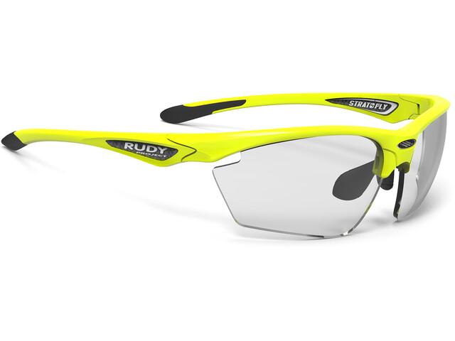 Rudy Project Stratofly Okulary rowerowe żółty